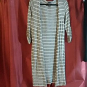 Wetseal long lightweight sweater size large